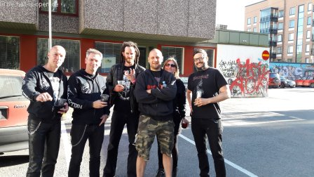 HIO and musicians of Misery Index and Torture Killer