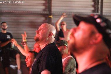 Fans bei Lividity