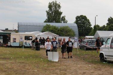 Eingang zum Festivalgelände