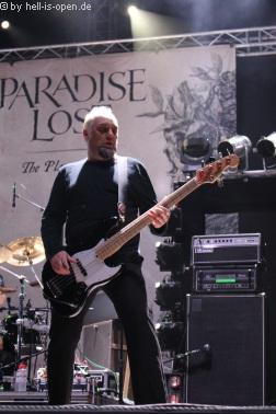 Paradise Lost sind der Headliner am Donnerstag
