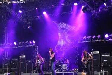 """DESTRÖYER 666 mit Ex-Drummer Mersus als """"Gastsänger"""""""