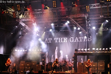 AT THE GATES sind der Headliner am Samstag