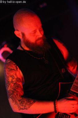 Horresque aus Limburg/Mainz bei ihrem ersten Live-Gig Gitarrist S