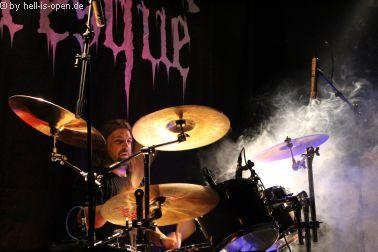 Horresque mit Death/Black Metal Drummer Matze