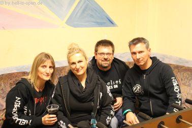 HIO Vorhut mit Besuch aus Österreich