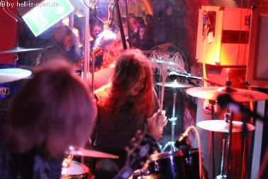 """The Wiring bei ihrem Album release von """"Withdrawal From Continuous Circulation"""""""