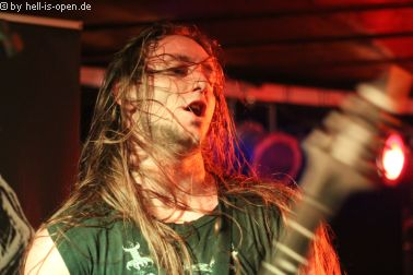 Revel in Flesh als Headliner bei ihrer Album Release Show