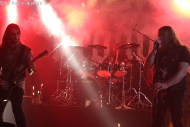 Purgatory Sänger Dreier featured ARROGANZ bei einem Song