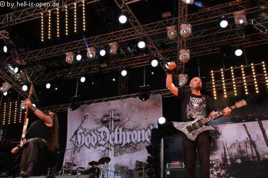 God Dethroned aus den Niederlanden sind wieder zurück auf der Bühne