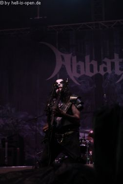 Abbath ist/sind der Headliner am Donnerstag