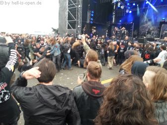 Wall of Death bei Vital Remains