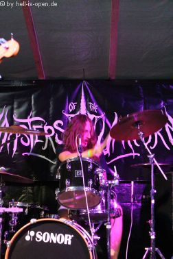 Wound aus Wiesbaden, Drummer Robin