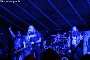 Purgatory mit Death/Black Metal als Headliner