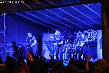 Purgatory mit Death/Black Metal als Headliner