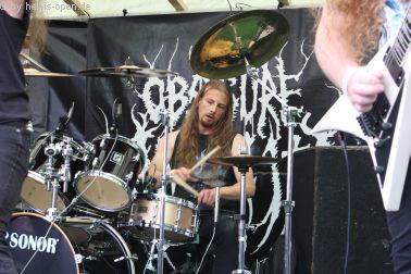 Obscure Infinity mit old school Death Metal