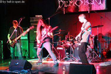 Demored mit US Death Metal aus Braunschweig