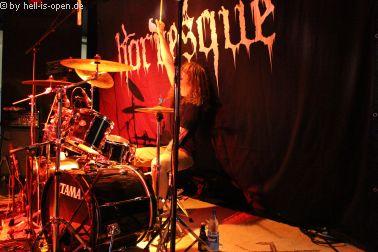 Horresque mit Black/Death Metal