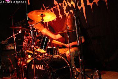 Horresque mit Black/Death Metal begeistern die Fans