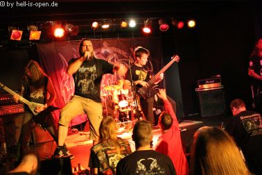 Obscenity mit Death Metal