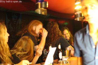 Aftershowparty im M8 im 03:29 Uhr