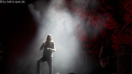 Iced Earth, Sänger Stu Block aus Florida/USA