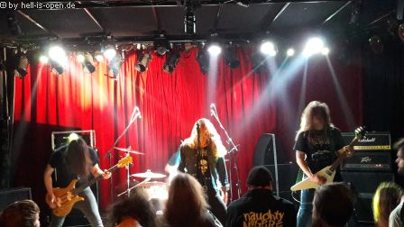 Deathrite mit D-Beat infected Death Metal
