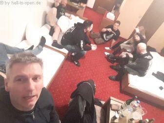 Freitagnacht im Hotel