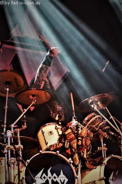 Sodom Drummer Husky RockHard 2018