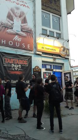 Der Rockclub Tartaros in Banská Bystrica, Slowakei