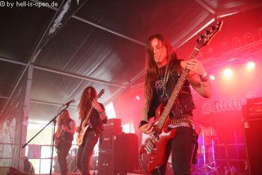 SKELETHAL aus Frankreich mit Black/Death Metal beim Party.San 2018 Freitag