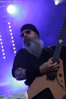 EXHORDER aus den USA mit Thrash Metal beim Party.San 2018 Freitag