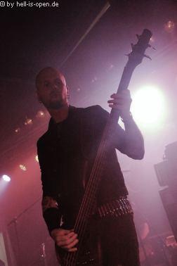 THE SPIRIT  mit Black/Death Metal beim Party.San 2018 Freitag