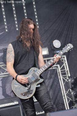 HARAKIRI FOR THE SKY  mit Post Black Metal beim Party.San 2018 Samstag