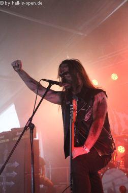 HIEROPHANT aus Italien mit Death Metal  beim Party.San 2018 Samstag