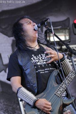 SADISTIC INTENT aus den USA mit Death Metal  beim Party.San 2018 Samstag