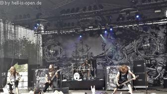 Deserted Fear mit Death Metal auf dem NOAF