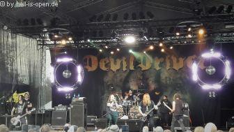 DevilDriver aus den USA mit Melodic Death Metal auf dem NOAF