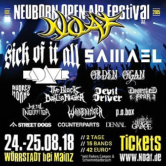 Neuborn Open Air 2018 Flyer