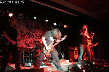 Aeon of Disease aus Vechta sind mit ihrem Death Metal der Opener auf dem Path of Death 7
