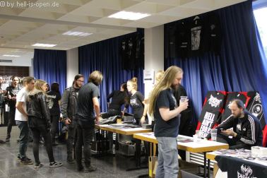 Merchandise beim Path of Death 7