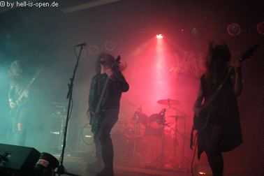 Nekrovault mit finsterem Death Metal beim PoD 7 in Mainz
