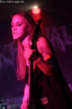 Nekrovault mit finsterem Death Metal beim PoD 7 in Mainz