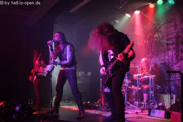 Atomwinter aus Göttingen mit old school Death Metal beim Path of Death 7 in Mainz
