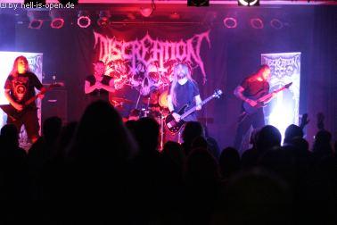 Discreation mit Death Metal beim Path of Death 7 in Mainz