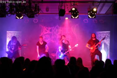 Discreation mit Death Metal beim Path of Death 7 in Mainz