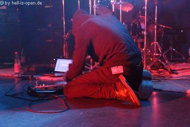 Kosmokrator aus Belgien mit finsterem Death Metal beim Path of Death 7 in Mainz