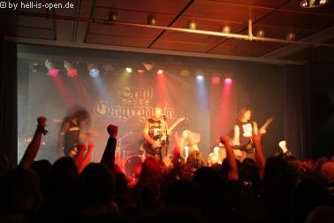 Dead Congregation aus Griechenland sind mit ihrem düsteren Death Metal der Headliner beim Path of Death 7 in Mainz