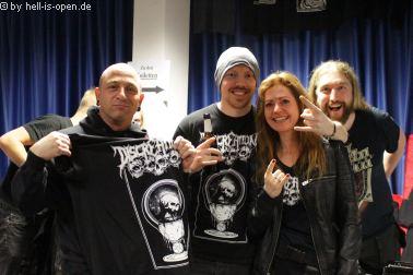 Fans und Discreation beim Path of Death 7 in Mainz