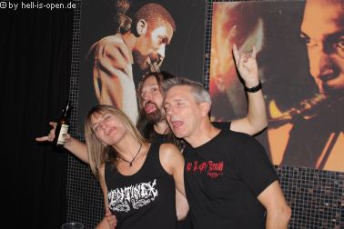 Die Aftershowparty beim  Path of Death 7 in Mainz