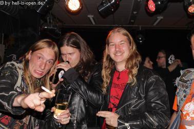 Die Aftershowparty beim  Path of Death 7 in Mainz
